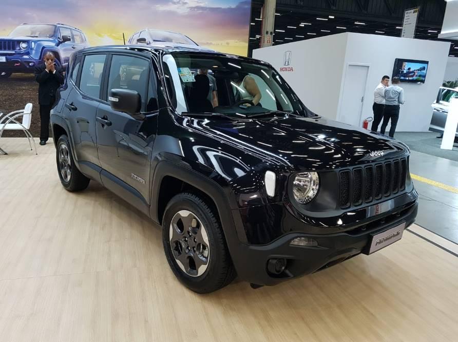 Jeep Renegade 2021 para PcD passa por mudanças de itens e outras mudanças